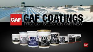 Surecoat Roof Coating by How To Select The Right Gaf Roof Coatings Product Youtube