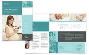 office brochure templates pregnancy clinic brochure template by stocklayouts