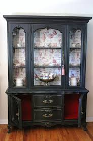 Black Dining Hutch Sideboards Amusing Black China Hutch And Buffet Black China