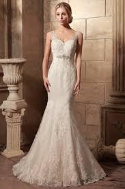 tank top bridal gowns v neck tank wedding dresses