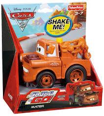 Disney Cars Bathroom Set Target by Amazon Com Fisher Price Shake U0027n Go Disney Pixar Cars 2 Mater