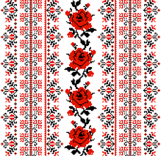 ukraine pattern vector ukrainian styles embroidery patterns vector set 01 vector pattern