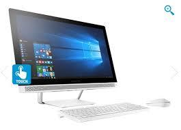 ordinateur de bureau i5 promo hp pavilion 24 b122nf tactile pas cher prix promo ordinateur tout en