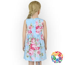 dress pattern 5 year old hot sale blue color flower girl dress patterns free birthday summer