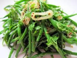 the secret ingredient dijon mustard warm green bean salad with