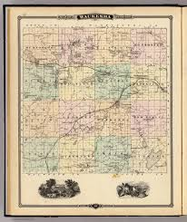 Maps Of Wisconsin by Map Of Waukesha County State Of Wisconsin David Rumsey