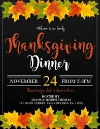 customizable design templates for thanksgiving event postermywall