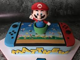 mario cake it s just cake súper mario bros nintendo switch cake