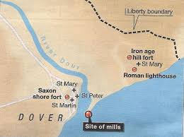 Map Of St Martin Dour River U2013 Part I An Historical Overview The Dover Historian