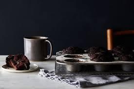 vegan gluten free double chocolate muffins recipe on food52