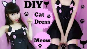 halloween costumes kitty cat halloween costume diy cat costume dress youtube
