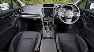 subaru impreza 2018 interior subaru impreza 2018 review by car magazine