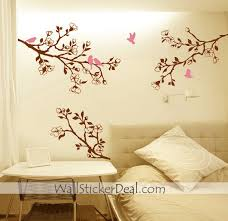 cherry decorations for home wall art designs home decor wall art branch cherry blossom birds