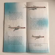 air caraibes reservation si e 1960s vintage tca airline brochure destination map arts