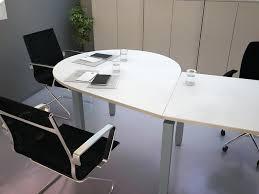 table ronde de bureau table ronde bureau extension de convivialita pour bureau pratique