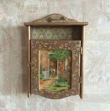 unique cabinet wooden key box wall key cabinet unique wall cabinet wooden rustic