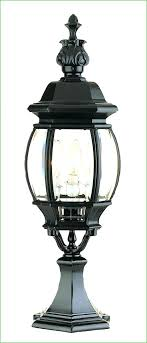 Outdoor L Post Lighting Fixtures Outdoor Globe Solar Post Light Pillar Ls Lighting