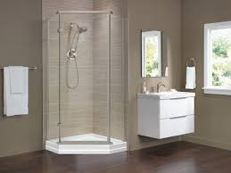 38 Neo Angle Shower Door 38 Frameless Neo Angle Shower Enclosure 422061 Delta Faucet
