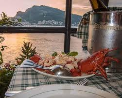 portovenere cuisine lobster aperitivo with sunset and portovenere view picture of