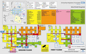 glenfield hospital map1 jpg u2014 university of leicester