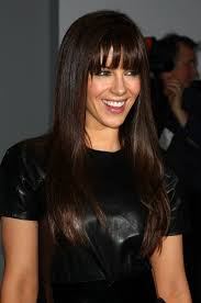 hair for straight hair a big nose 20 ways to wear blunt bangs high forehead long face shapes and