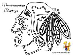 chicago blackhawks coloring pages chicago blackhawks pinterest