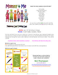 Fun Kids Cooking Class With Pampered Chef Consultant