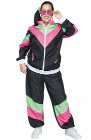 plus size costumes for women 80s track suit plus size costume purecostumes