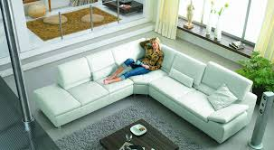 Modern Leather Sectional Sofa Sofa Beds Design Marvellous Contemporary Off White Leather