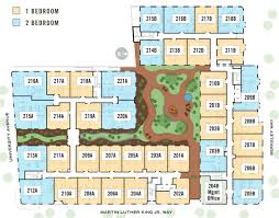 New Floor Plan New Californian Berkeley Apartment Floorplans