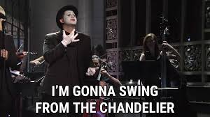 Lyrics Of Chandelier By Sia Chandelier Live On Snl Lyrics Sia Song In Images