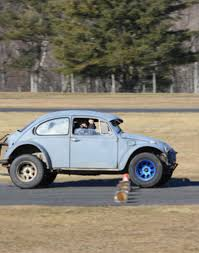 baja bug lowered why you should run autocross even if your car is a hunk of crap