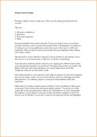 Simple Student Resume Template Resume Templates In Spanish Sample Resumes Free Tips Pertaini Saneme