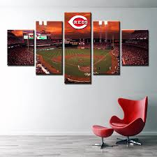Cincinnati Reds Home Decor Compare Prices On Wall Art Baseball Online Shopping Buy Low Price