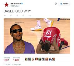 Lil B Memes - james harden doused with based god memes the latest hip hop news