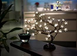 Branch Decorations For Home by Amazon Com Lightshare16inch 36led Cherry Blossom Bonsai Light