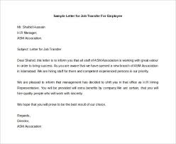 ideas of how to write a job letter for an employee open bank