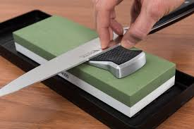 Sharpening Stone For Kitchen Knives by Sharpening Guide Slider 4349 Wüsthof Knives And Kitchentools