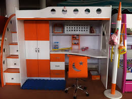 Bunk Bed With Study Table Furniture Chandigarh Panchkula Haryana Trendz Wooden Garden