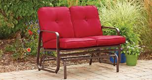 Metal Porch Gliders Bench Outdoor Montreux Metal Double Chaise Lounge For Outdoor