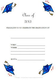 free editable and printable graduation invitations cards