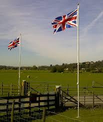 Plain Flags For Sale Aluminium Flagpole 20ft With Union Jack Flag Amazon Co Uk Garden
