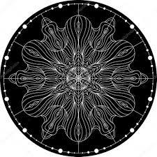 Luxurious Decorative Element Black Mandala For Coloring Mandala Vector Coloring Page Mandala
