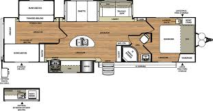 triple bunk travel trailer floor plans travel trailers by forest river rv salem hemisphere 300bh 28000