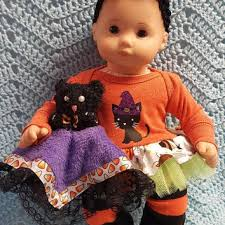 Bitty Baby Halloween Costume American Doll Clothes Bitty Baby Thedollydama Etsy