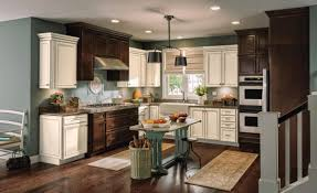interior design traditional kitchen design with white aristokraft traditional kitchen design with paint aristokraft and under cabinet microwave plus dark pergo flooring