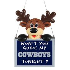 dallas cowboys cards lights decoration
