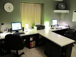 Two Person Home Office Desk Captivating Two Person Desk Design Ideas For Your Home Office