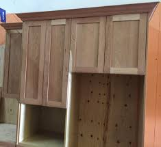unfinished kitchen cabinet doors unfinished natural american cherry shaker kitchen cabinets wooden