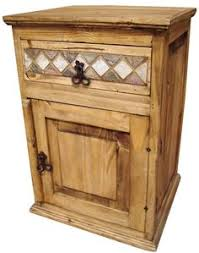 Rustic Pine Nightstand Mexican Pine Furniture Link To This Page More Segusino